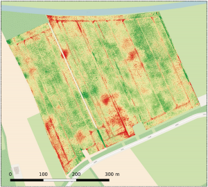 spot spray field mapping Agrifac