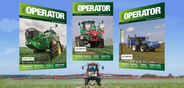 Pro Operator magazine subscription page