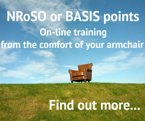 Online training advert